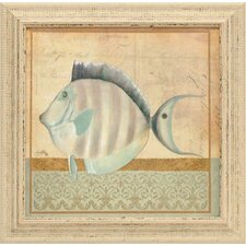 Vintage Fish III Framed Art