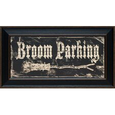 <strong>Artistic Reflections</strong> Broom Parking Framed Art