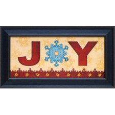 Joy Framed Art
