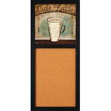"Café Latte 2' 8"" x 1' 2"" Bulletin Board"