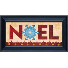 Noel Framed Art
