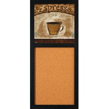 """Espresso 2' 8"""" x 1' 2"""" Bulletin Board"""