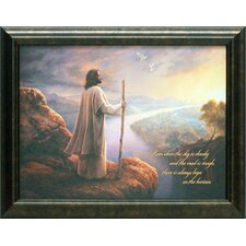 Hope on the Horizon Framed Graphic Art