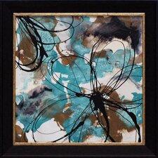Free Flow II Framed Painting Print