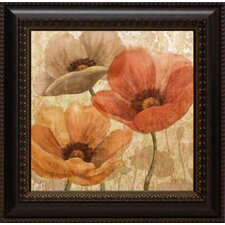 Poppy Allure I Framed Graphic Art