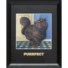 Purrfect Framed Art