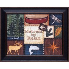 <strong>Artistic Reflections</strong> Retreat and Relax Framed Art
