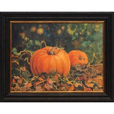 Pumpkin Patch Framed Painting Print