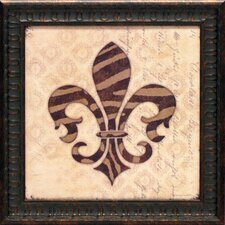 Fleur De Lys I Framed Graphic Art