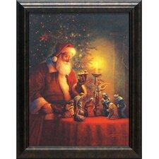 The Spirit of Christmas Framed Painting Print