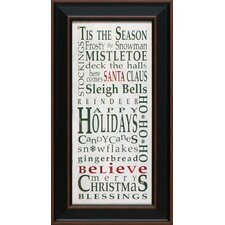 <strong>Artistic Reflections</strong> Tis the Season Framed Art