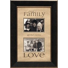 Our Family Grows Photo Frame