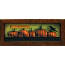 Harvest Blessings Mini Framed Art