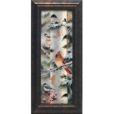 Feathered Friends II Framed Painting Print