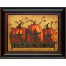 Harvest Blessings Framed Art