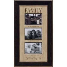 Family…We Walk Together Photo Frame