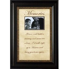 <strong>Artistic Reflections</strong> Memories…If Tears Could Build Photo Frame
