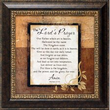 The Lord's Prayer Framed Textual Art
