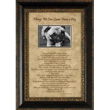 Things We Can Learn from a Dog Photo Frame