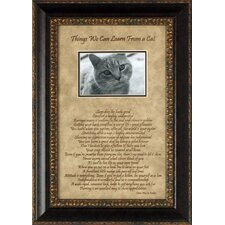 Things We Can Learn From a Cat Photo Frame