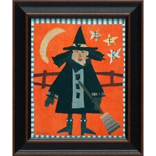 Witch Framed Art