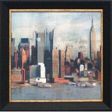 New York Skyline I Framed Painting Print