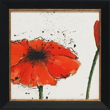 Not a California Poppy III Framed Painting Print