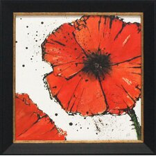 Not a California Poppy IV Framed Painting Print
