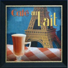 Café Au Lait Framed Art