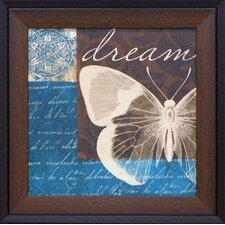 Dream in Butterflies Framed Art
