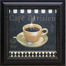 Café Parisien I Framed Art