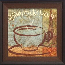 Bistro de Paris Framed Vintage Advertisement