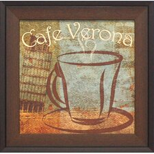Café Cerona Framed Vintage Advertisement