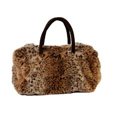 Fur Leopard Bag
