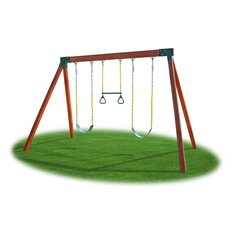 <strong>Eastern Jungle Gym</strong> Classic Cedar Swing Set