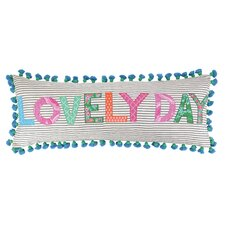 Lovely Day Cotton Pillow
