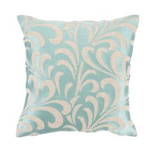 Talavera III Linen Embroidered Pillow