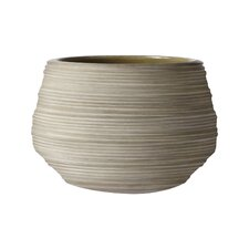 Corrugated Ceramic Pot