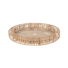 Split Spoke Round Serving Tray