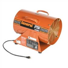 "<strong>General Equipment</strong> 12"" AC Electric, Portable Ventilation Blower with 1526.7 CFM"