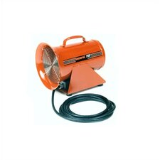 "8"", DC Electric Portable Ventilation Blower  with 999.1 CFM"