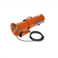 "BLOW-R-PAC 8"" DC Electric, Portable Ventilation Blower with 8"" x 25' Flexible Duct"