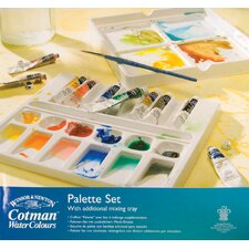 Cotman Watercolor Paint Palette (Set of 10)