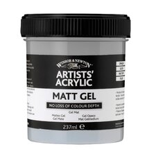 Artists Acrylic Matte Gel Mediums Jar