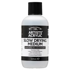 Artists' Acrylic Slow Drying Medium Bottle (Set of 3)