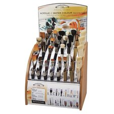 Wash And One-Stroke Brush Assortment