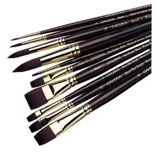 Galeria Acrylic Long Handle Flat  Brush