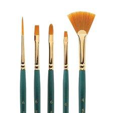 Regency Gold Fan Decorative Painting Brush