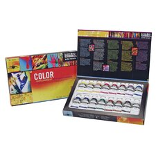 Professional Acrylic Color Paint Tube Set