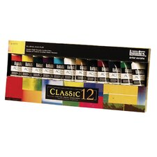 Professional Acrylic Paint Tube Set